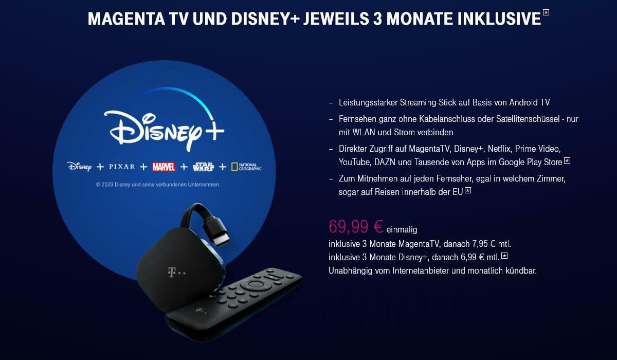 Magenta Disney Plus