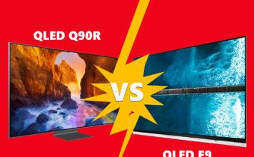 Mediamarkt lässt den Samsung Q90R QLED gegen den E9 OLED TV von LG antreten