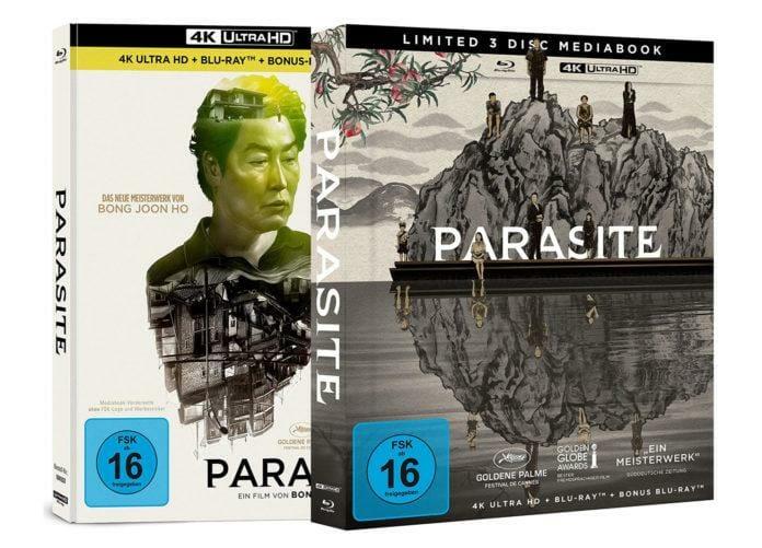Bei der 4K Blu-ray von Parasite ist Capelight ein kleiner Fehler unterlaufen