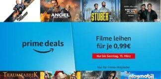 Filme für je 99 Cent ausleihen - jetzt in den Amazon Prime Deals