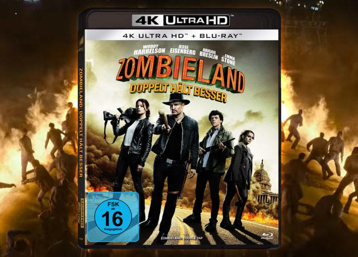 Ein Sequel das sich wirklich lohnt - Zombieland 2 auf 4K Blu-ray