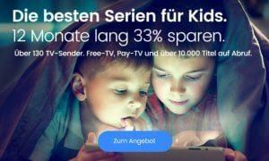 waipu.tv Kinderserien Promotion