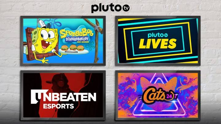 Pluto TV Neu April 2020