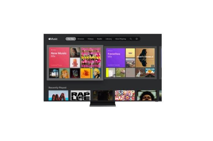 Samsungs TVs erlangen Zugriff auf Apple Music