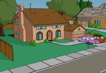 Simpsons Haus