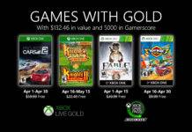 Xbox Games with Gold April 2020