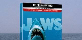 """""""Der weiße Hai"""" erscheint in der 45 Anniversary Edition als 4K Blu-ray Steelbook mit Dolby Atmos Sound"""