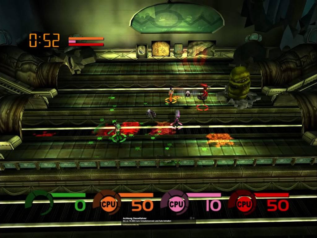 """Das Original Xbox Game """"Fusion Frenzy"""" präsentiert in einer neuen Bilddynamik dank 4K/HDR. (Bild: Youtube/digitalfoundry.com)"""