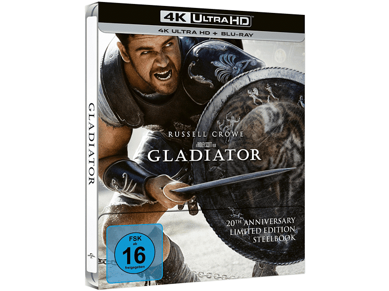 Gladiator 20th Anniversary 4K Blu-ray Steelbook