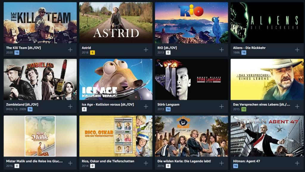 In der Auswahl finden wir auch unzählige Kinderfilme und Filmklassiker wieder. Für 99 Cent fast geschenkt!