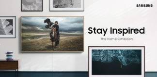 """Besitzer eines """"The Frame"""" Lifestyle-TV werden von Samsung mit kostenlosen Bilder versorgt #TheHomeExhibition"""