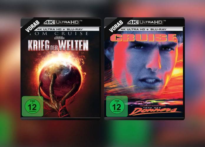 Krieg der Welten und Tage des Donners mit Tom Cruise erhalten ein 4K Blu-ray Remaster