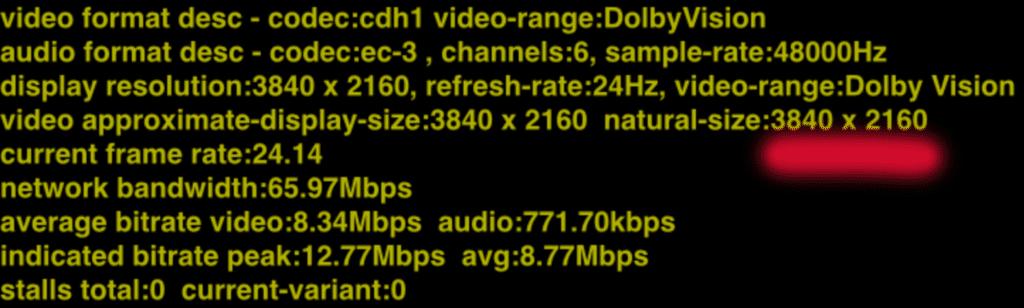 Zum Vergleich: Lost in Space auf Netflix wird nativ in 4K gestreamt