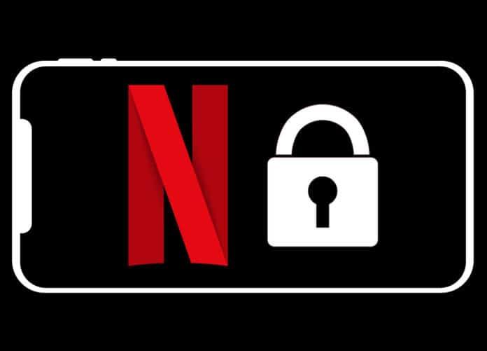 Praktisch: Netflix-App mit Bildschirmsperre-Button für Smartphones und Tablets