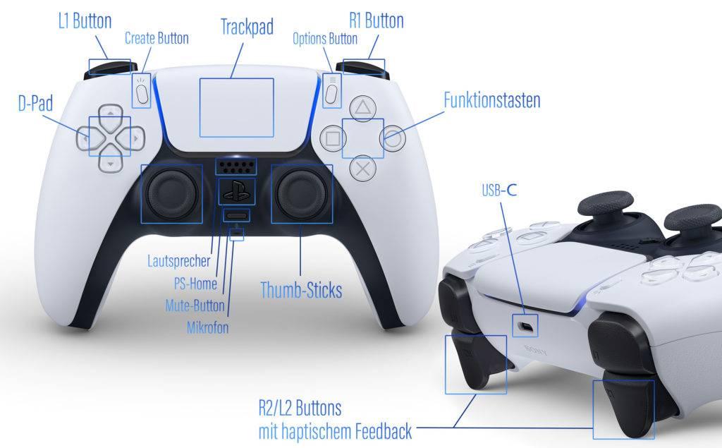 Der Sony DualSense im Detail