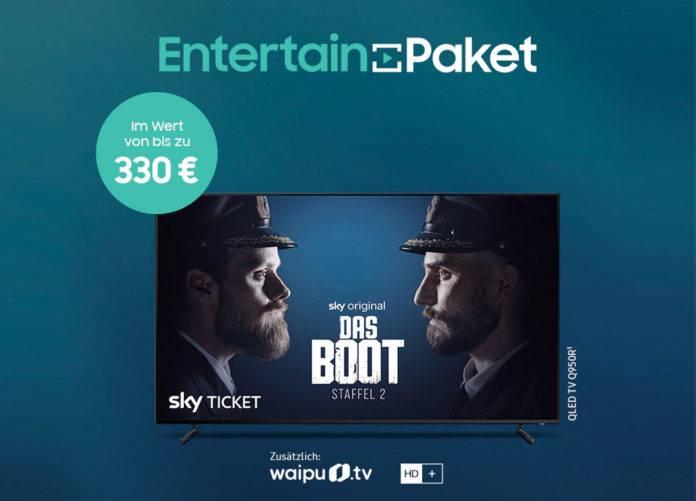 Samsung belohnt TV-Käufer mit einem dicken EntertainPaket!