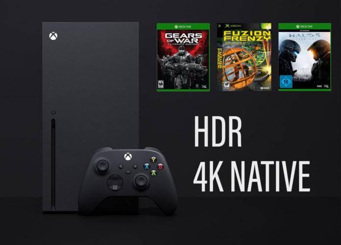 Xbox Series X HDR Implementuerung 4K für alte Games