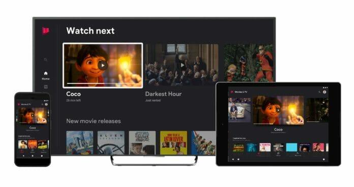 Google Filme und Serien Android TV Neu 2020