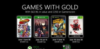 Xbox Games with Gold Juni 2020