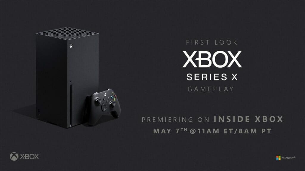 Xbox Series X 7 Mai 2020