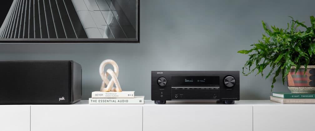 Der Denon AVC-X3700H fühlt sich im Wohnzimmer daheim
