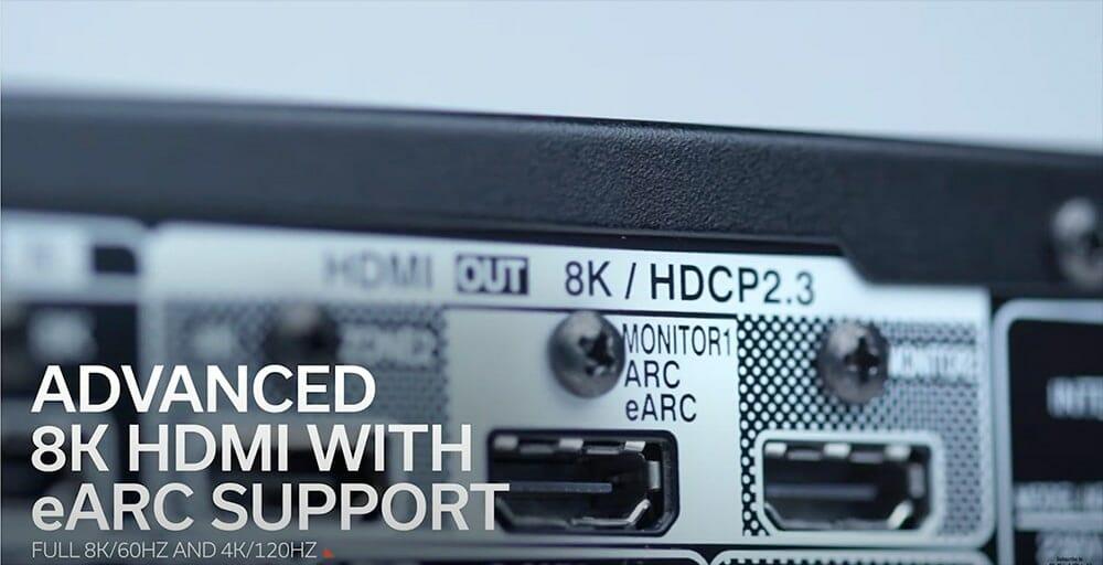 Разъем Denon AVC-X6700H HDMI 2.1
