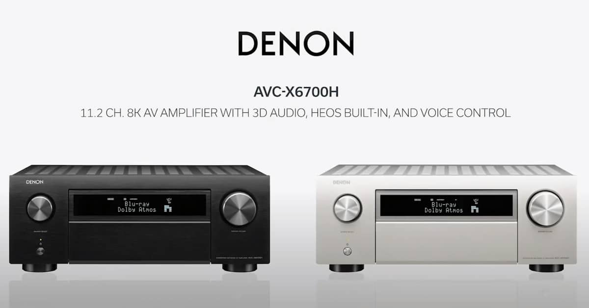 AVC-X6700H 11.2-Kanal AV-Receiver mit HDMI 2.1 & DTS:X PRO