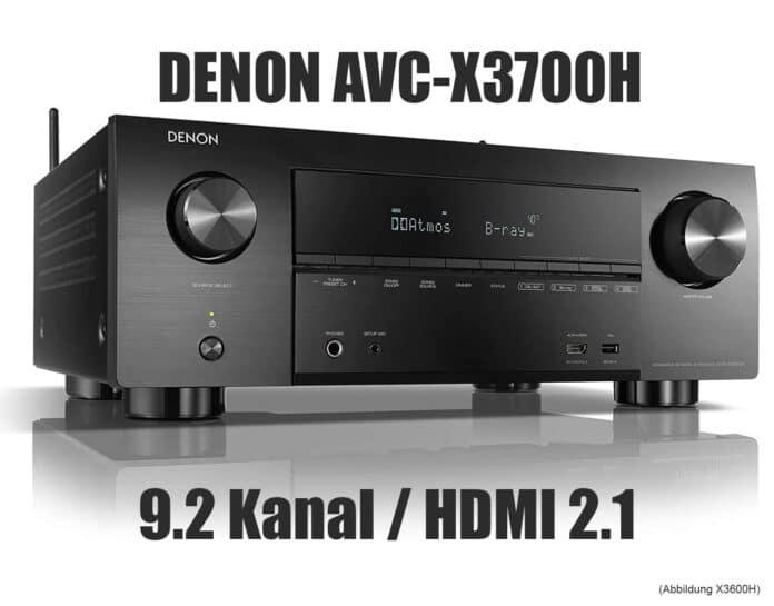AVR-X3700H AV-ресивер с HDMI 2.1 Denon