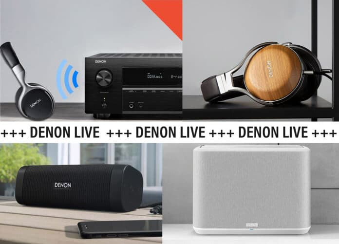 Denon Live Event Youtube Facebook