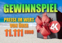 Jubiläums-Gewinnspiel: Sommer-Adventskalender mit Preisen im Wert von 11.111 Euro