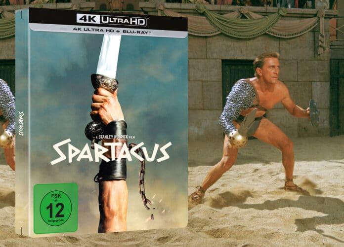 Spartacus (1960) erscheint im limitierten 4K Blu-ray Steelbook
