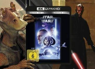 Star Wars Episode I - Die dunkle Bedrohung auf 4K Blu-ray im Test