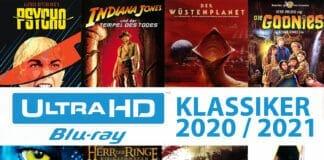 Unzählige Klassiker und Youngtimer sollen eine UHD-Restauration erhalten und auf 4K Blu-ray erscheinen