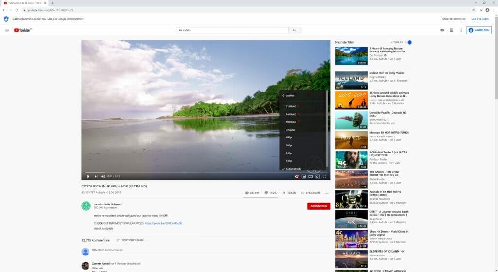 Chuwi Herobox YouTube