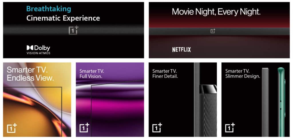OnePlus TV 2020 Features