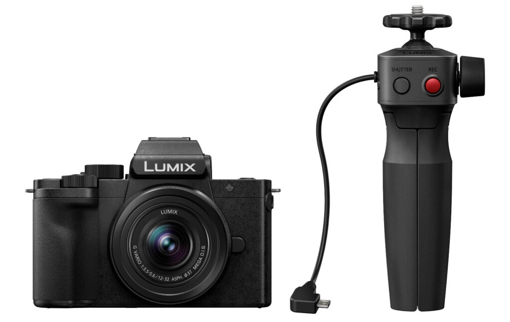Panasonic Lumix G110 mit Griff
