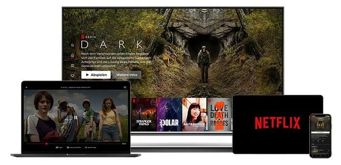 Ob Zuhause oder Unterwegs, Netflix unterhält immer