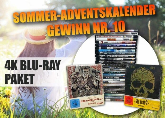 Türchen 10 birgt ein Mega-4K-Blu-ray-Paket im Wert von ca. 350 Euro!