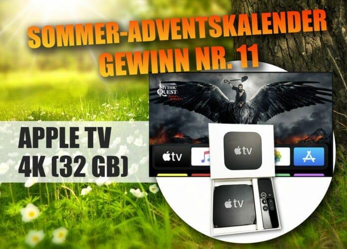 Gewinne einen Apple TV 4K und tauche in die Welt der digitalen Filme & Games ein