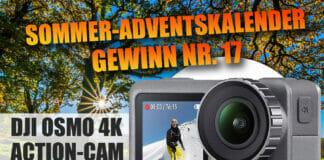 Eigene Videos in 4K/HDR-Qualität drehen: Kein Problem mit der DJI Osmo Action-Cam