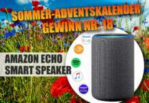 """""""Gut Unterhalten"""". Gewinnspiel-Türchen 18 überrascht mit dem Amazon Echo (Gen 3)"""