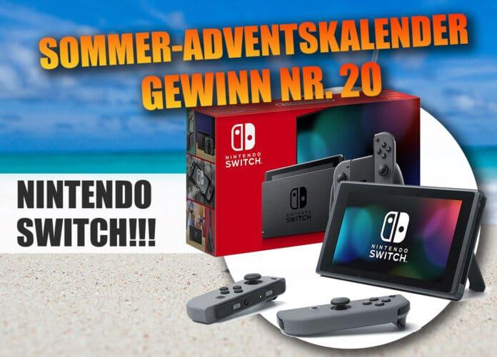 Gewinnspiel Nr. 20: Gewinne eine Nintendo Switch Konsole (2019)