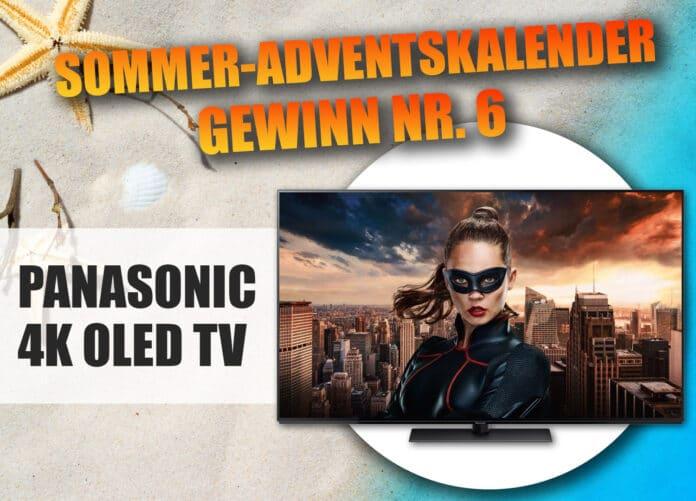 Gewinnt einen 4K OLED TV von Panasonic in unserem Sommer-Adventskalender