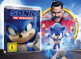 Gut zu Fuß: Sonic the Hedgehog 4K Blu-ray im Test