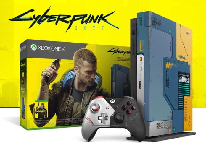 Begehrt: Die Xbox One X 1TB Cyberpunk 2077 Limited Edition ist bereits restlos ausverkauft