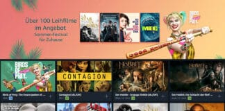 Über 100 Filme ab 97 Cent ausleihen!