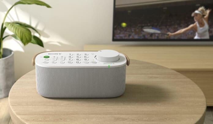 Sony SRS-LSR200: Ein TV-Lautsprecher für Menschen mit Hörbeeinträchtigungen