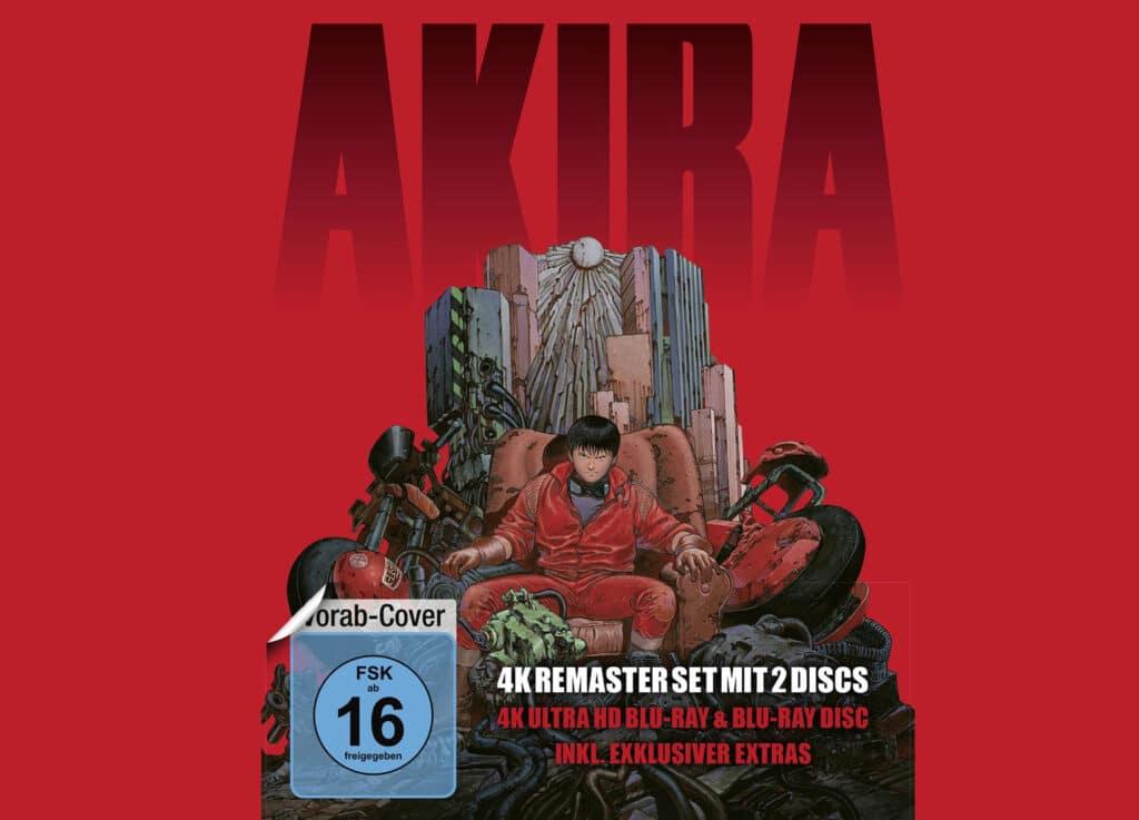 Akira 4k Blu-ray Steelbook