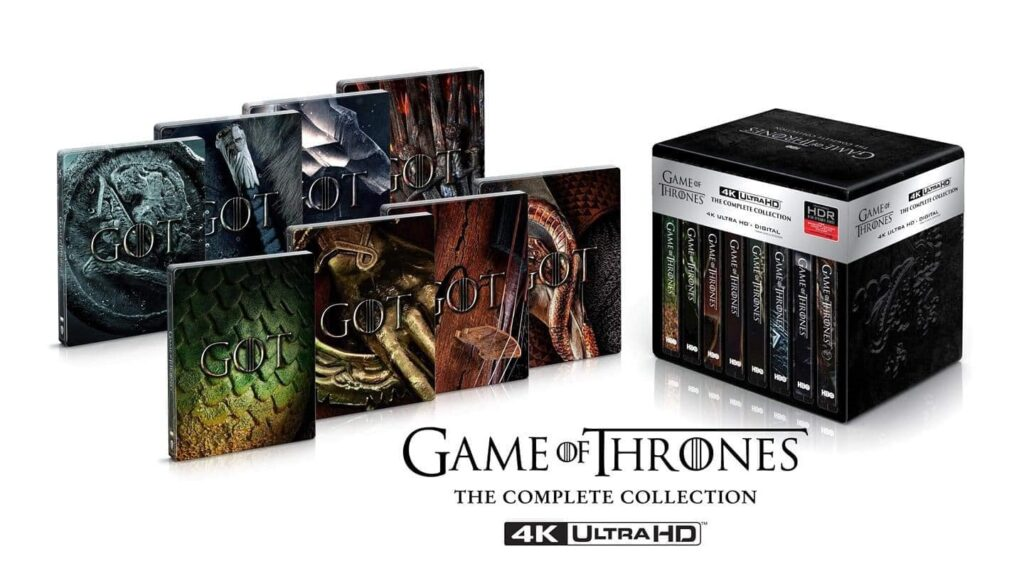"Game of Thrones ""The Complete Collection"" soll auch als 4K Blu-ray Steelbook erscheinen"