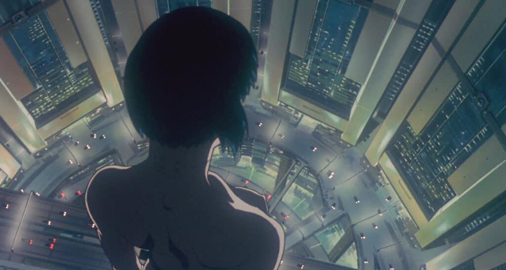 """Major Motoko Kusanagi aus dem Anime """"Ghost in the Shell"""""""
